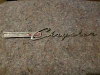 Chrysler Car Emblem Dodge Plymouth Oil Gas Garage wall art Die cut Sign vintage