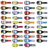 100% Racecraft Motorcycle ATV MX Offroad Dirtbike Goggles With Mirrored Lens