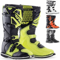 FLY MX ATV Racing Maverik Motocross Boots Dirt Bike Riding Adult