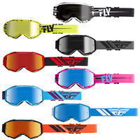 Fly Racing 2019 Zone Goggles Adult MX ATV Dirtbike Motorcycle