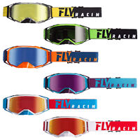 Fly Racing 2019 Zone Pro Goggles Adult MX ATV Dirtbike Motorcycle