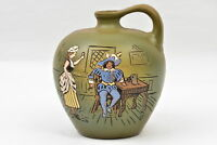 Weller Pottery 1900-05 Dickensware II Whiskey Jug Old England Bar Scene #30