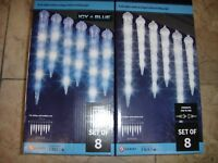 Led LightShow Shooting Star Icicle Lights create an Elegant Effect of falling L