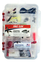 Eagle Claw Crappie Tackle Kit - 55 Pieces including Tackle Box  #TK-CRPPE1