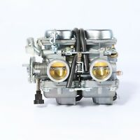 Motorcycle ATV 250cc Racing Carburetor Double Carby Engine ASSY PD26JS 26 34mm
