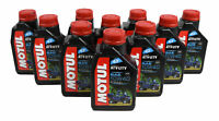 Motul 105878 4T 10W40 Motor Oil 4 Stroke ATV/UTV Engine 1L/1.05 Qts Can-10 Pack
