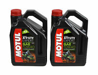 Motul 105939 Synthetic Blend Motor Oil ATV UTV Expert 10W40 4L - 2 pck