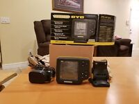 HUMMINBIRD DHS-W BARE TRANSDUCER AND WIDE EYE VISION VIEWER HUMMINGBIRD