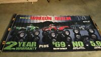 Arctic Cat Vintage Wheeling and Dealing ATV Original Dealer 4x8 banner 01