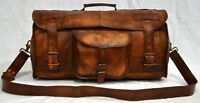 Bag Duffel Men's Leather Travel Bag Luggage Gym Messenger Bags Case Suitcases