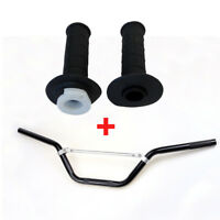 Motorcycle CNC Handlebar with Pair of Hand Grips 7/8