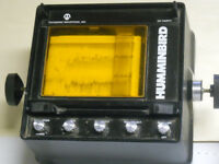 vintage humminbird 1980's fish finder Model CH Thirty chart type finder(PB19-10)