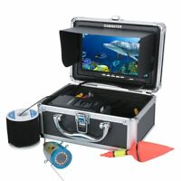 7inch Video Fish Finder HD 1000tvl Underwater Fishing Video Camera Kit White LED
