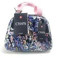 Chaps Hardshell Luggage Clamshell Carry on Travel Beauty Case Bag NWT$200