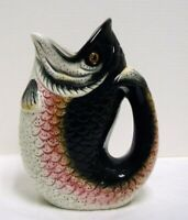 Hautman Brothers Large Rainbow Trout Fish Pitcher 2004 Textured 11
