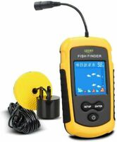 LUCKY Handheld Fish Finder Portable Fishing Kayak Fishfinder Depth Gear with...