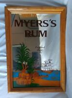Vintage Myers's JAMAICAN RUM Bar Mirror Sign 20