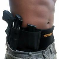 Belly Band Holster Concealed Carry Holsters for Women Men Tactical Gun IWB OWB