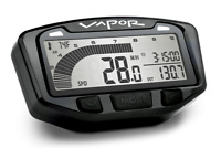 Trail Tech Yamaha Raptor 700 Vapor Stealth Black Tach Tachometer Speedometer