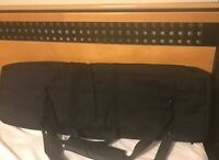 46-Inch Tactical Double Rifle Gun Case, Black Padded