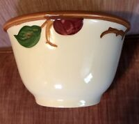 1950s GMB FRANCISCAN POTTERY CALIFORNIA APPLE MIXING BOWL 7.5 INCHES WIDE