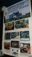 Chevrolet poster Reason To Buy 1979 Medium Truck chevy dealer showroom 36