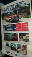 Chevrolet poster Reason To Buy Chevy Pickup Truck dealer showroom 36