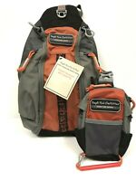 Temple Fork Outfitters Hybrid Fishing Chest Backpack Sling Fly Tackle Bag $124