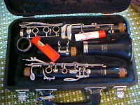 YAMAHA MODEL 20 CLARINET WITH ORIGINAL HARD CASE