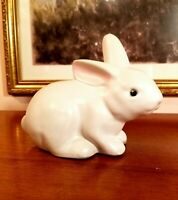 Pigeon Forge Pottery  Tenn. White Rabbit Bunny Figurine
