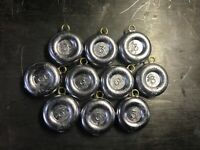 3 oz RIVER COIN SINKERS FISHING WEIGHTS  3 ounce  10-20-30 quantity