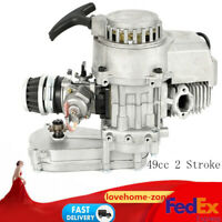 49CC 2-STROKE HIGH PERFORMANCE ENGINE MOTOR For POCKET MINI BIKE SCOOTER ATV