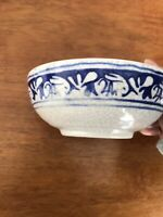 Antique Dedham Pottery Bowl Rabbit Pattern
