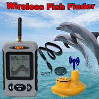 Lucky 40M/120FT Sonar Depth Sounder Alarm Carp Fishing Ocean River Lake FFW718