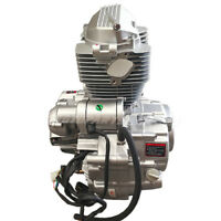 4-stroke Vertical ATVs Engine Motor with Manual Transmission w/Reverse 200 250cc