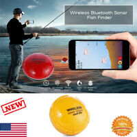 Portable Wireless Smart Sonar Fish Finder Detection for iOS Android and Devices
