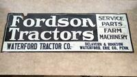 Antique Fordson Tractor Sign from Pennsylvania (PPS002802)