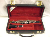 BUFFET CRAMPON PARIS PROFESSIONAL R13 Eb WOOD CLARINET NICKEL PLATED KEYS NICE