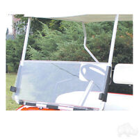 Clear or Tinted 2-Piece Split Windshield for Club Car DS '82-'00 Golf Carts (R)