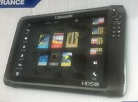 Lowrance HDS 12 Carbon Fishfinder Chartplotter with StructureScan 3D Transducer