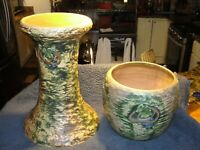 Roseville Imperial 1 Jardiniere and Pedestal (Good Condition)