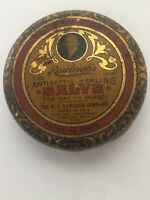 Vintage Rawleigh's Antiseptic Healing Salve For Man & Beast Highly Medicated
