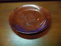 Beautiful JUGTOWN Pottery Plate - Brown Glaze - Catawba Valley - $ REDUCED!