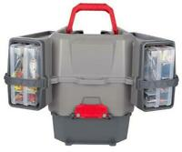 Plano Kayak V-Crate Tackle System Gray/Red