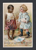 1880s Trade Card - Black American - Fairbanks Fairy Soap