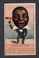 1880s Trade Card - Black American - Seller's Cough Syrup