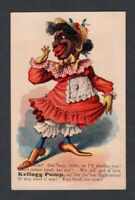 1880s Trade Card - Black American - Kellogg Pump