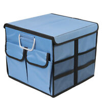 Small Car storage box  covered Collapsible  Trunk Bag Tool Multipurpose