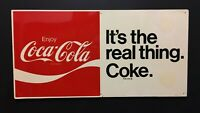 Vintage Original Tin Coca-Cola