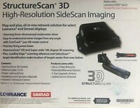 Lowrance StructureScan 3D With Transom Mount Transducer & 3D Module